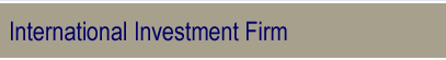 International Merchant Banking